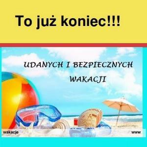 """Obrazek newsa Nowy numer gazetki - kierunek """"WAKACJE"""""""