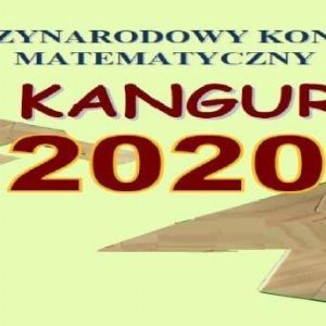 """Obrazek newsa Wyniki konkursu """"KANGUR 2020"""""""