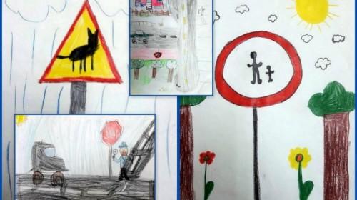 Obrazek galerii Bezpeicznie na drodze świetlica