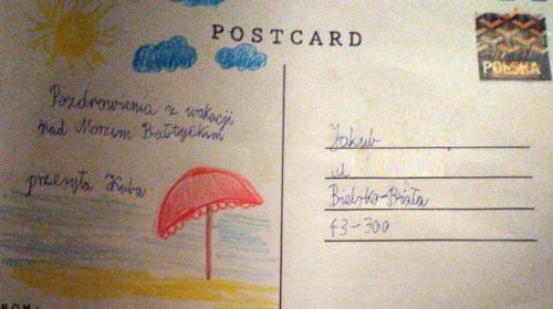 Obrazek galerii Pocztówka z wakacji