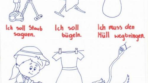 Obrazek galerii moje obowiązki - jezyk  niemiecki