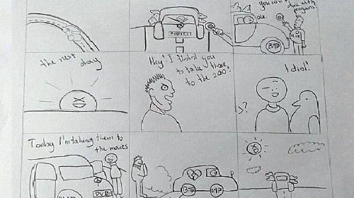 Obrazek galerii komiksy