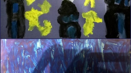 Obrazek galerii Grudniowe niebo