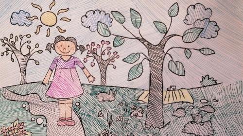 Obrazek galerii Wiosna w polu, sadzie, w lesie