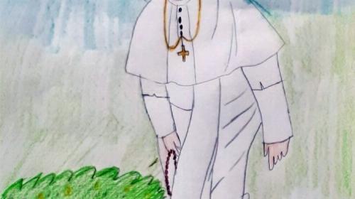 Obrazek galerii 100-lecie papieża