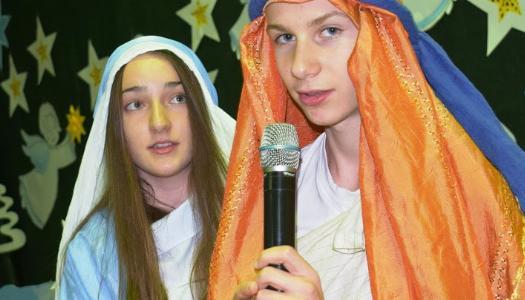Obrazek newsa Jasełka w naszej szkole