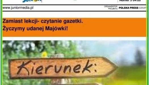 """Obrazek newsa Nowy numer gazetki - kierunek """"Majówka"""""""