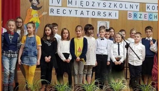 """Obrazek newsa IV międzyszkolny konkurs recytatorski """"Brzechwałki"""""""