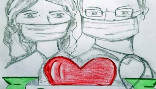 Obrazek newsa Dziękujemy medykom - konkurs plastyczny