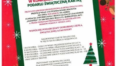 Obrazek newsa Bożonarodzeniowa kartka świąteczna!