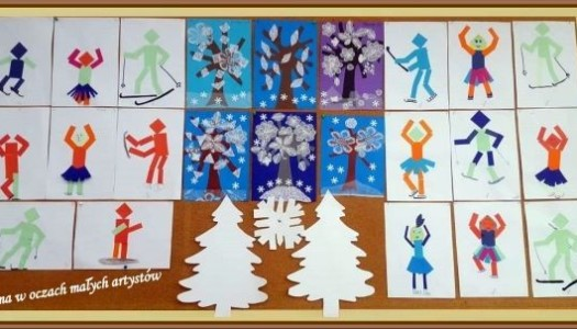 Obrazek aktualności Zima w oczach małych artystów