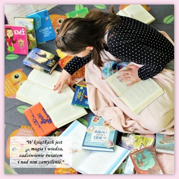Obrazek aktualności W książkach jest magia i wiedza