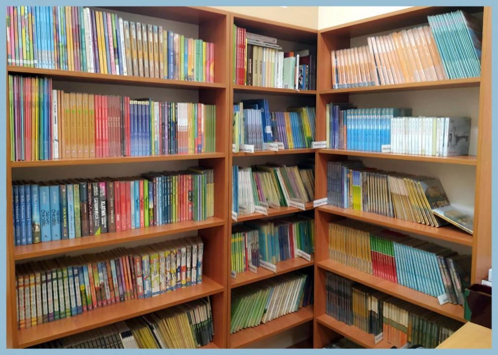 Obrazek newsa Z wizytą w bibliotece szkolnej