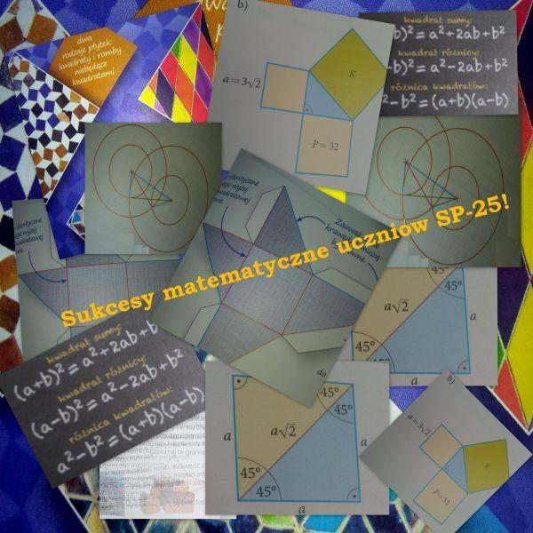 Obrazek newsa Sukcesy matematyczne naszych uczniów!