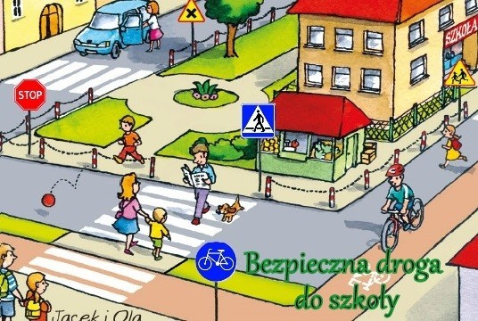 Obrazek aktualności Bezpieczna droga do szkoły!