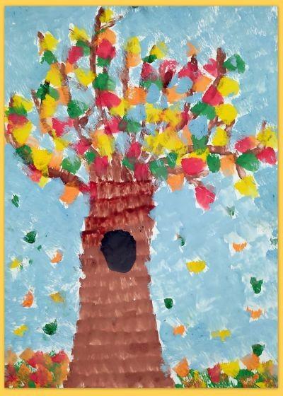 Obrazek aktualności 4 pory roku w oczach dzieci- jesienne inspiracje